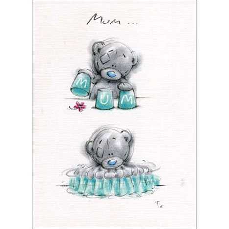 Bear with Cups Mothers Day Me to You Bear Card  £1.60