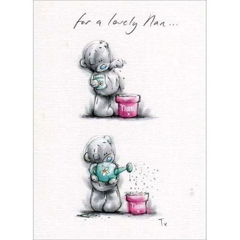 Nan Planting Mothers Day Me to You Bear Card  £1.60