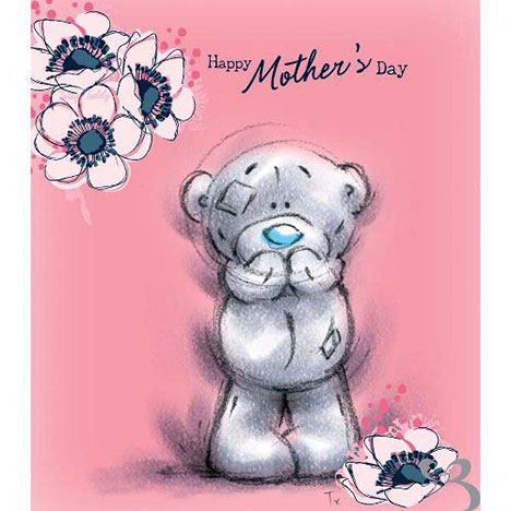 Happy Mothers Day Pink Sketchbook Me to You Bear Card  £1.80