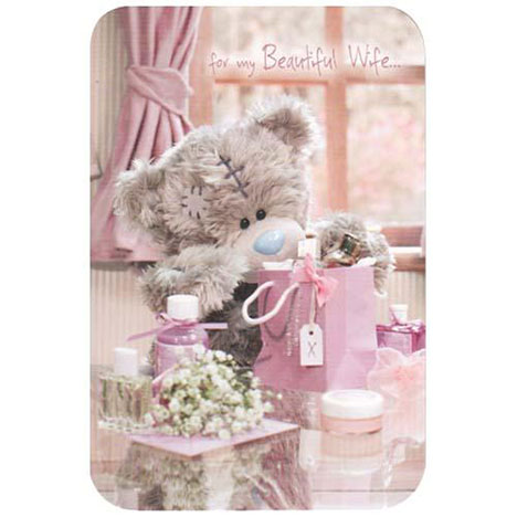 Beautiful Wife Me to You Bear Mothers Day Card  £2.40