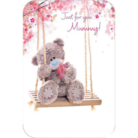 Just for You Mummy Me to You Bear Mothers Day Card  £2.40