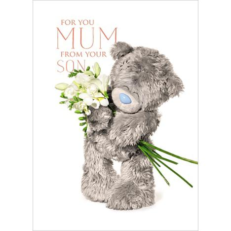 3D Holographic Mum From Son Me to You Mothers Day Card  £2.69