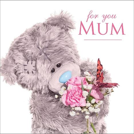 3D Holographic For You Mum Me to You Bear Mothers Day Card  £2.99