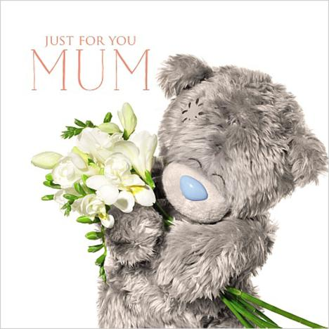 3D Holographic Just For Mum Me to You Mothers Day Card  £2.99