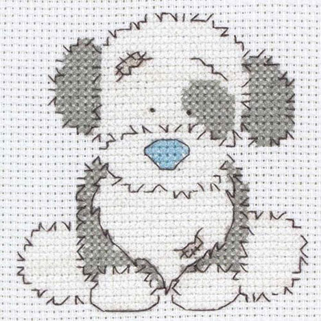 My Blue Nose Friends Fluffy Cross Stitch Starter Kit  £11.99