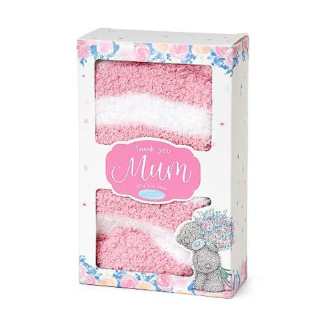 Mum Boxed Me to You Bear Socks ` £3.00