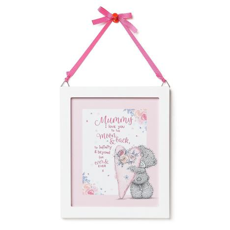 Mummy Love You To The Moon & Back Me to You Bear Plaque  £3.99