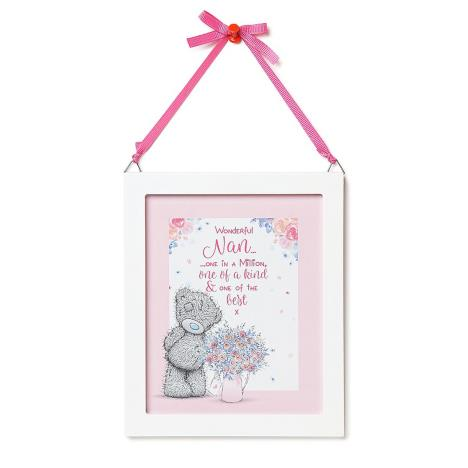 Wonderful Nan Me to You Bear Plaque  £3.99