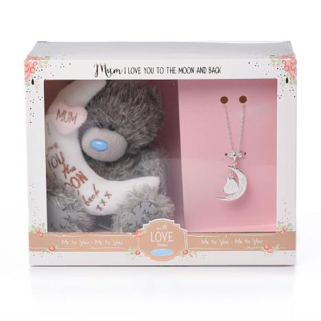 "Mum Me to You Bear 5"" Plush & Necklace Gift Set  £15.00"