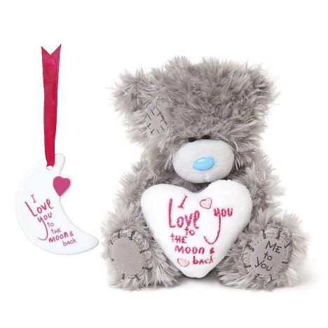 "5"" Love You To The Moon Me to You Bear & Plaque Set  £14.99"
