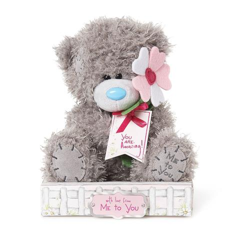 "7"" You Are Amazing Daisy Flower Me to You Bear  £9.99"