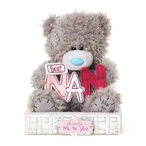 "7"" Best Nan Letters Me to You Bear  £9.99"