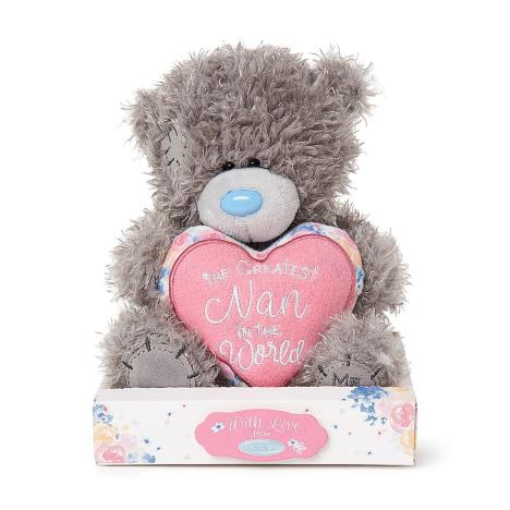 "7"" Padded Greatest Nan Heart Me to You Bear  £9.99"