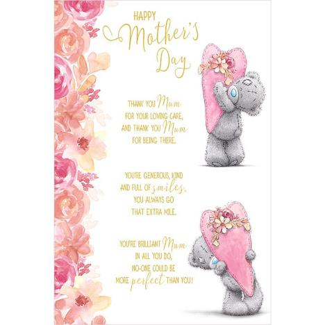 Hearts Verse Me to You Bear Mothers Day Card  £3.59