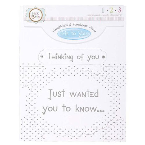 Thinking of You Occasions Verse & Greeting Insert  £1.00