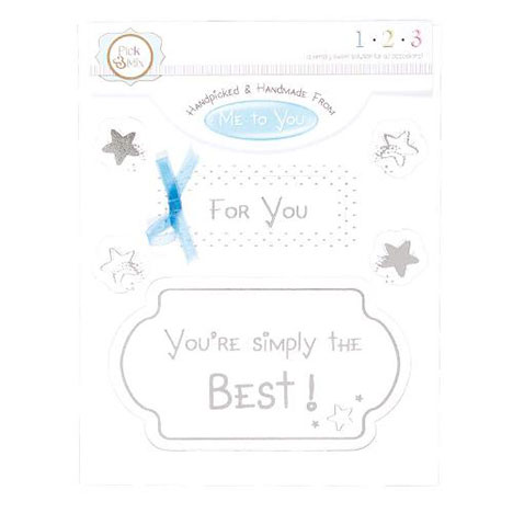 For You Me to You Bear Occasions Verse & Greeting Insert   £1.00