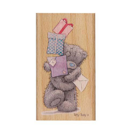 Stacks Of Presents Me to You Bear Stamp  £6.00