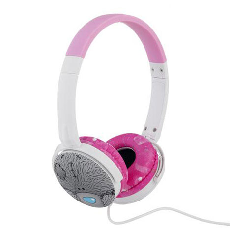 Pink Me to You Bear Adjustable Headphones  £19.99
