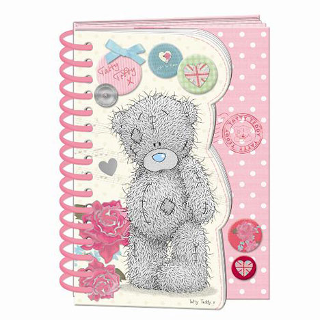 A6 Me to You Bear Spiral Bound Notebook  £3.99