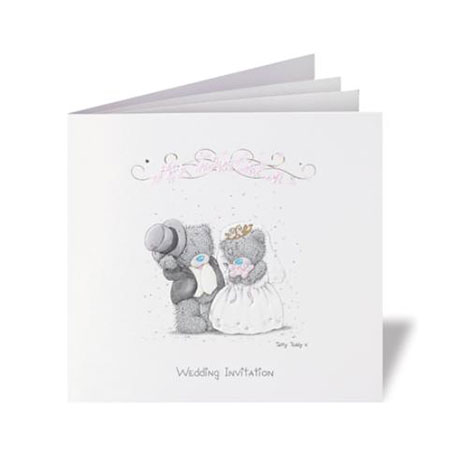 Me to You Bear Personalised Wedding Invitations Per 20 Per 20 £74.99