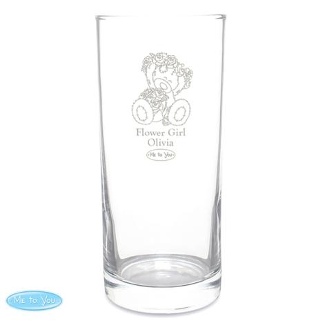 Personalised Me to You Engraved Wedding Girl Hi Ball Glass  £11.99