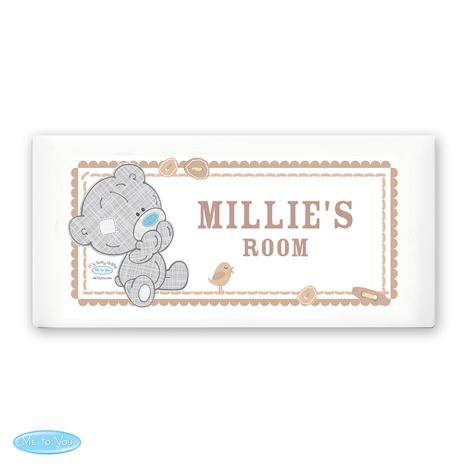 Personalised Tiny Tatty Teddy Me to You Bear Door Plaque  £15.99