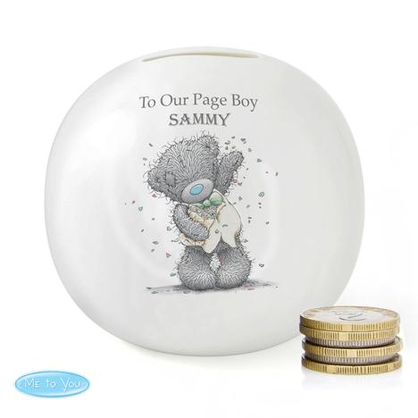 Personalised Me to You Page Boy Usher Wedding Money Jar  £15.99
