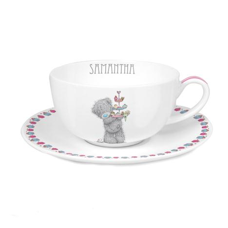 Personalised Me to You Bear Cupcake Teacup & Saucer  £15.99