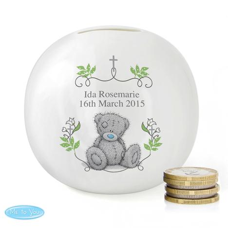 Personalised Me to You Bear Natures Blessing Money Box  £15.99