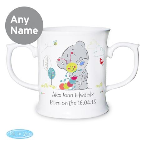 Personalised Tiny Tatty Teddy Cuddle Bug Babys Mug  £13.99