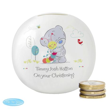 Personalised Tiny Tatty Teddy Cuddle Bug Money Box  £15.99