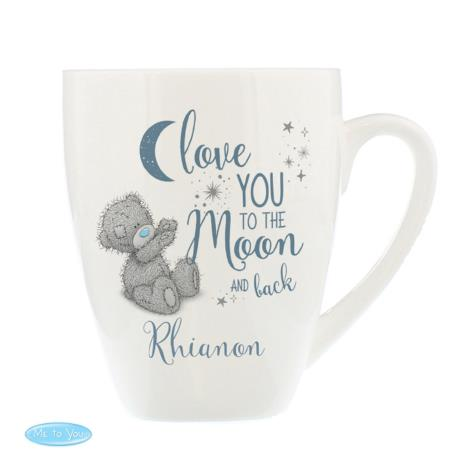 Personalised Love You to the Moon & Back Me to You Latte Mug  £10.99