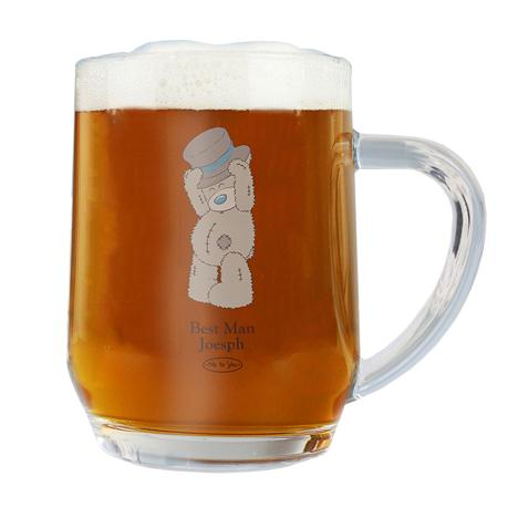 Personalised Me to You Bear Wedding Tankard  £11.99