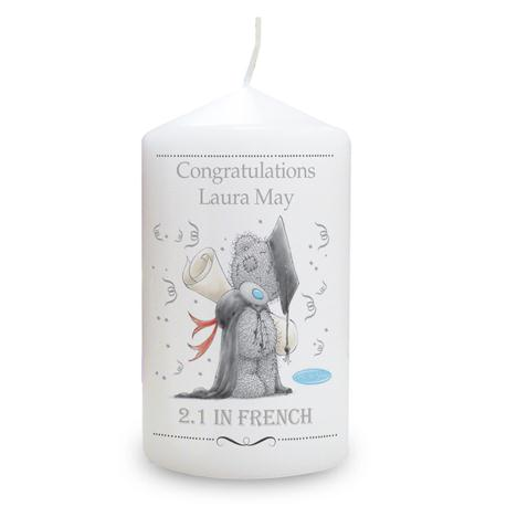 Personalised Me to You Bear Graduation Candle   £10.99