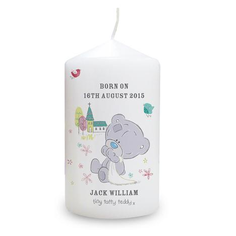Personalised Tiny Tatty Teddy Candle  £10.99