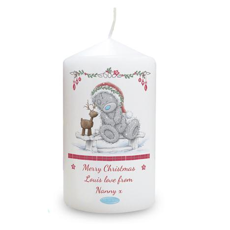 Personalised Me to You Christmas Reindeer Candle  £10.99