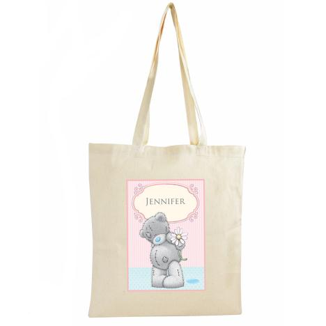 Personalised Me To You Bear Daisy Cotton Bag  £13.99