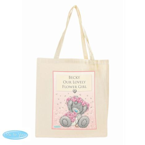 Personalised Me to You Flower Girl Bridesmaid Wedding Cotton Bag  £13.99