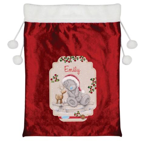 Personalised Me to You Reindeer Luxury Pom Pom Sack  £19.99