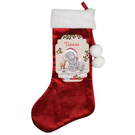 Personalised Me to You Reindeer Luxury Stocking  £14.99