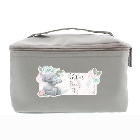 Personalised Me to You Floral Grey Make Up Wash Bag  £26.99