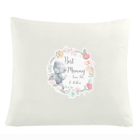 Personalised Me to You Floral Cream Cushion Cover  £14.99