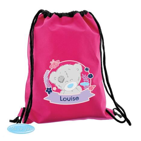Personalised Me to You Bear Pink Swim & Kit Bag  £14.99