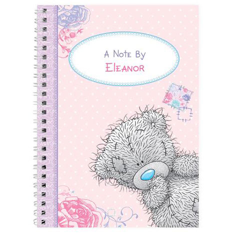 Personalised Me to You Bear A5 Notebook  £8.99