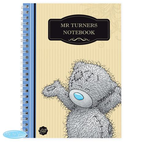 Personalised Me to You Bear For Him A5 Paperback Notebook  £7.99