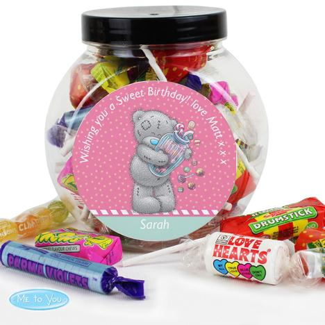 Personalised Me to You Bear Candy Girl 250g Sweet Jar   £8.99