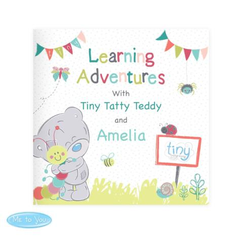 Personalised Tiny Tatty Teddy Learning Adventure Book  £12.99