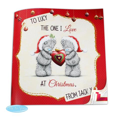 Personalised Me to You Bear The One I Love at Christmas Book  £13.99