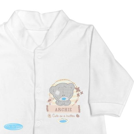 Personalised Tiny Tatty Teddy Baby Grow 12-18 Months  £16.99