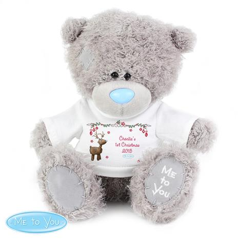 "Personalised 10"" Me to You Bear with Reindeer T-Shirt  £29.99"